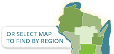 Wisconsin Region Map