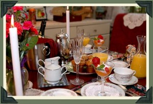 Candlelight Breakfast at Naeset-Roe Inn