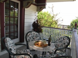 Picture yourself enjoying breakfast on the porch of Port Washington Inn.