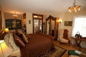 Westphal Mansion guest room