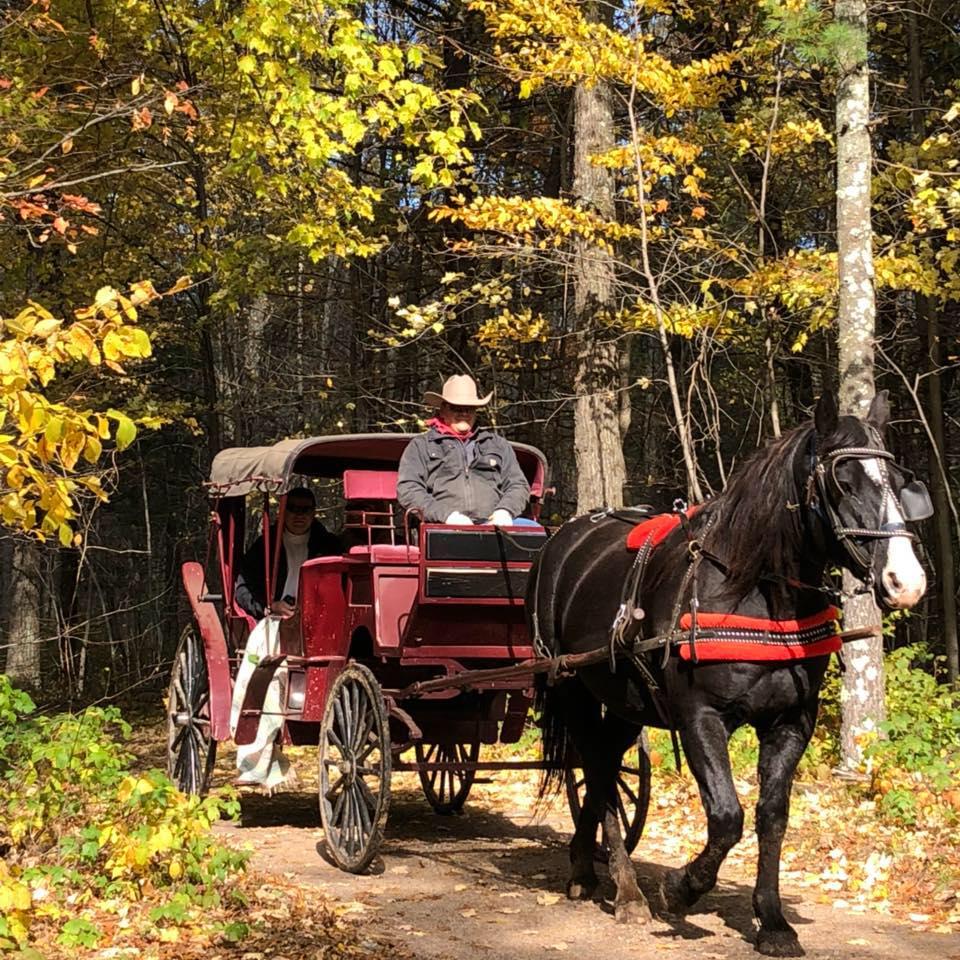Cabin Ridge Fall Ride