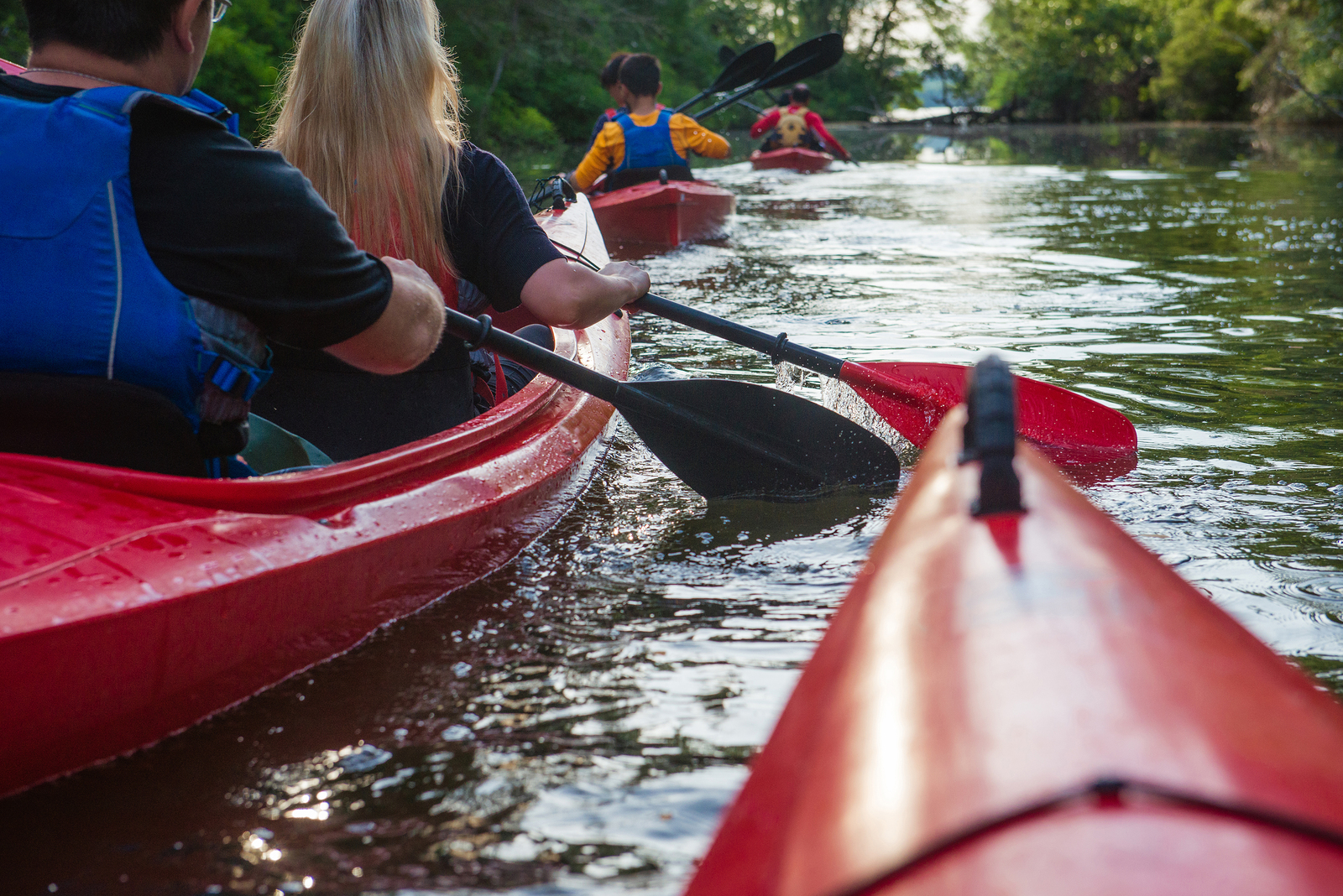 Kayaking and Canoeing in Wisconsin
