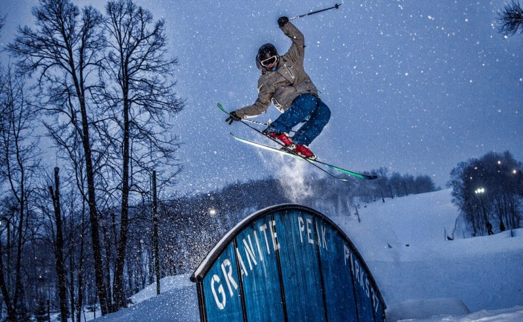Granite Peak Area has the Best Skiing in Wisconsin