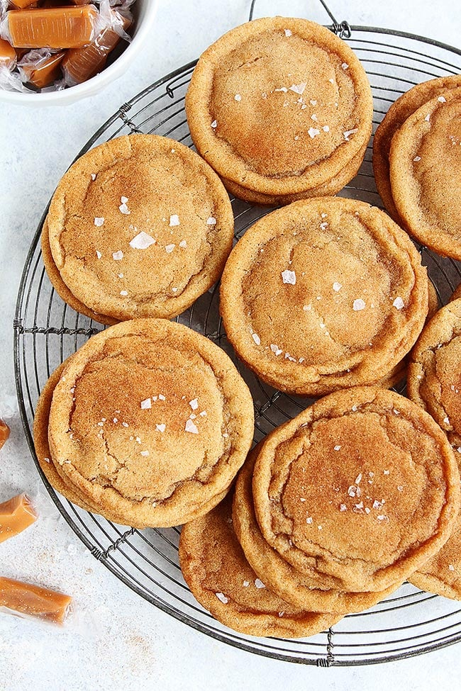 Brown-Butter-Salted-Caramel-Snickerdoodles-1 simple recipes