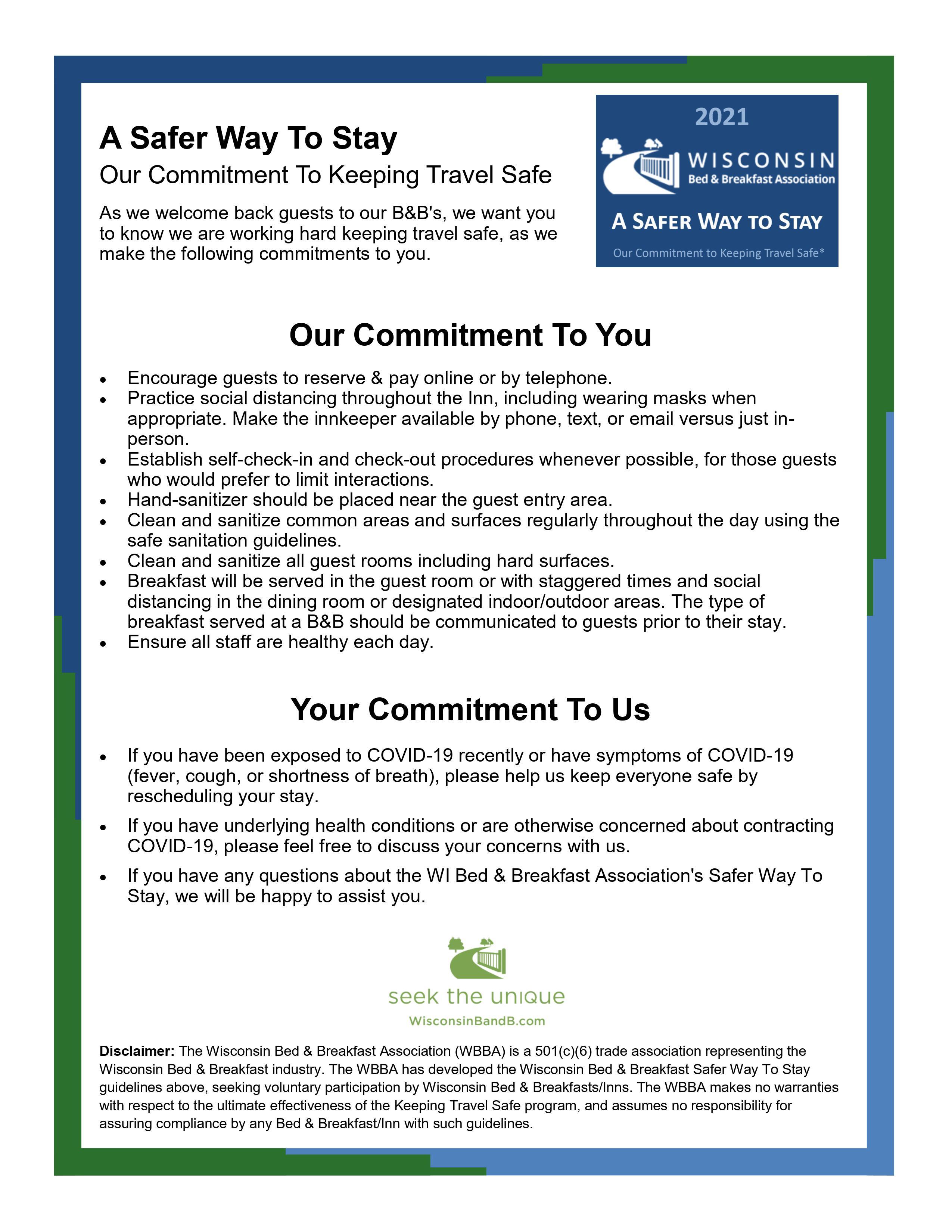 Keeping Travel Safe Document