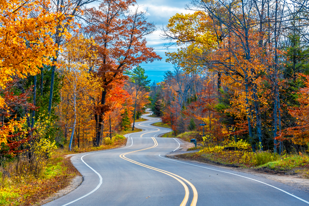 Scenic Drives and Stunning Door County Fall Colors await this fall!